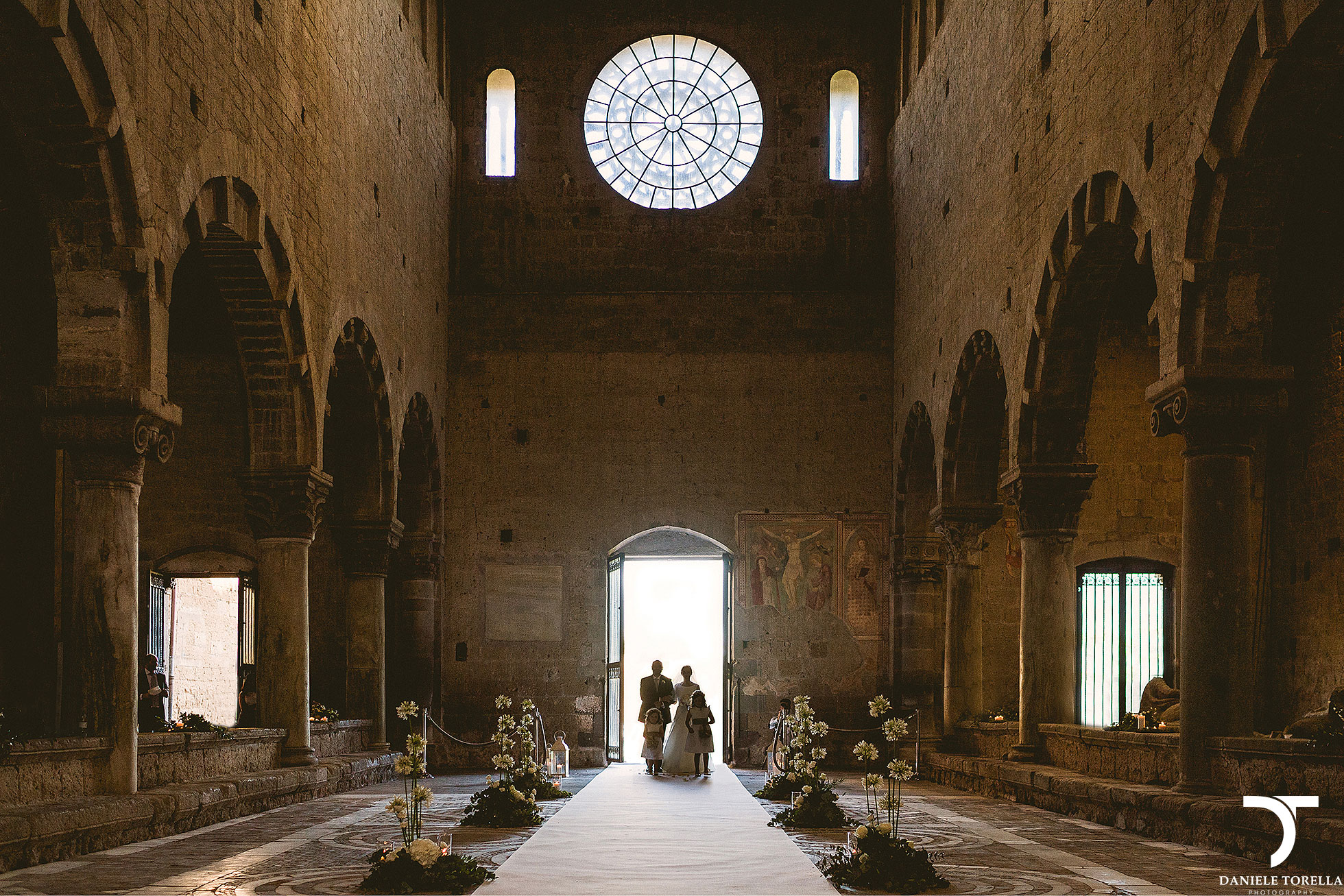 Wedding San Giusto Abbey