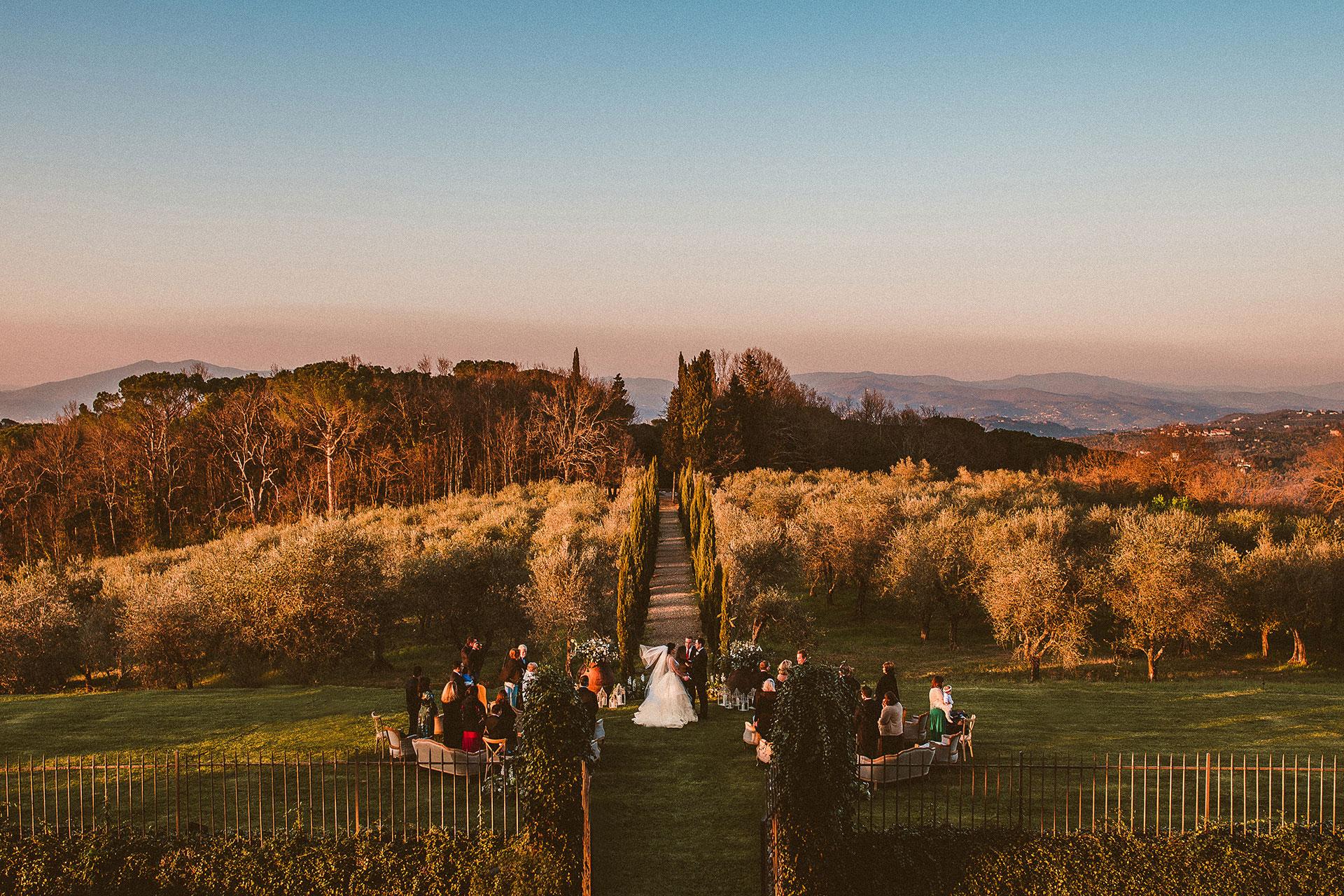 wedding at villa mangiacane
