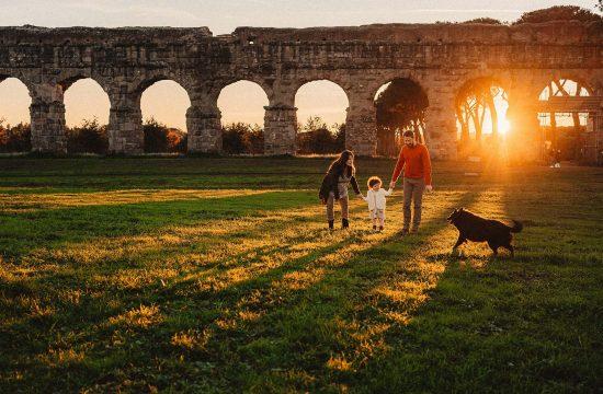 fotografie di famiglia a roma