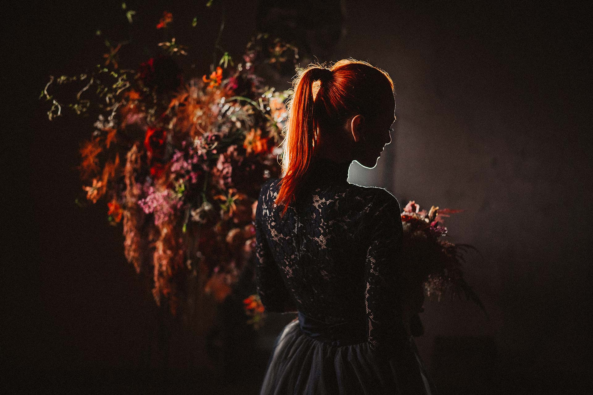Inspiration dark wedding